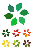 Design leaves logo element. Stock Photography