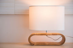 Design lighting on the desk Royalty Free Stock Photos