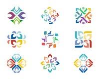 Design-Logo Lizenzfreies Stockfoto