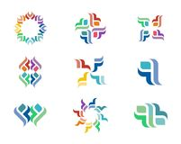 Design-Logo Lizenzfreie Stockbilder