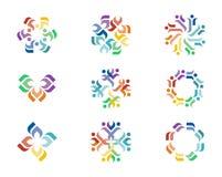 Design-Logo Stockfoto