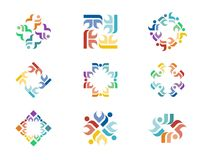 Design-Logo Lizenzfreies Stockbild