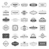 Design logo and monograms Stock Photos
