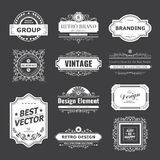 Design logo and monograms Royalty Free Stock Photos