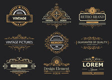 Design logo and monograms Royalty Free Stock Photo