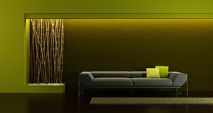 Design of the lounge room Stock Photo