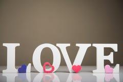 Design love words Stock Photography