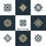 Design Luxury Template Set. Swash Elements Art Vector Vintage St Royalty Free Stock Photos