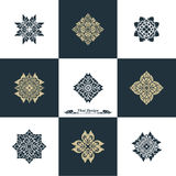 Design Luxury Template Set. Swash Elements Art Vector Vintage St Royalty Free Stock Photography