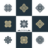 Design Luxury Template Set. Swash Elements Art Vector Vintage St Royalty Free Stock Images