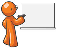 Free Design Mascot Dry Erase Board Blank Stock Photography - 10006912