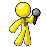 Design Mascot Mic Stock Images