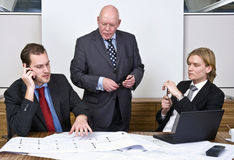 Design meeting Stock Image