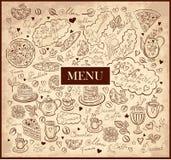 Design of menu Stock Images