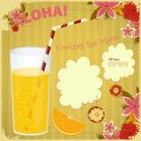 Design Menu card for Cocktail Bar Stock Photos