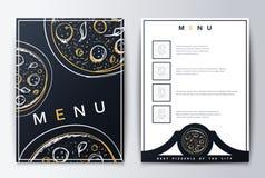 Design menu. Menu food. Royalty Free Stock Photos