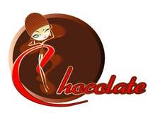 Design Menu Of Chocolate Bar Royalty Free Stock Images