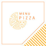 Design menu. Pizza. Stock Photo