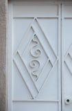 Design on metal door Stock Images