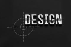 Design metal word. Is for designer use metal word design Royalty Free Stock Photos