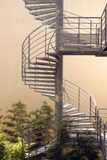 Design metallic stairs Stock Image