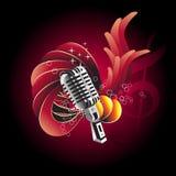 design mic vektor illustrationer