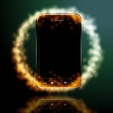 Design mobile phone Royalty Free Stock Image