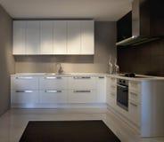 Kitchen. Design modern kitchen, interior design Royalty Free Stock Photo