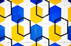 design modern tiles 库存图片