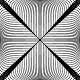 Design monochrome abstract lines background Stock Photography