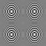 Design monochrome checkered background Stock Photo
