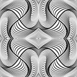 Design monochrome decorative background Stock Image