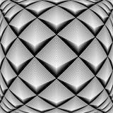 Design monochrome diamond geometric pattern Stock Image