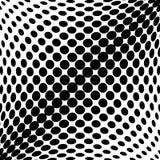 Design monochrome dots background Royalty Free Stock Photo