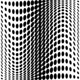 Design monochrome dots background Stock Photo