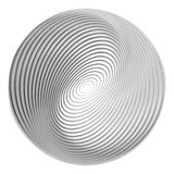Design monochrome ellipse background Stock Image