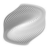 Design monochrome ellipse background Royalty Free Stock Image