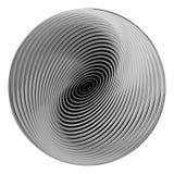 Design monochrome ellipse background Royalty Free Stock Photos