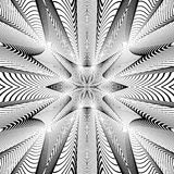 Design monochrome grid background Stock Image