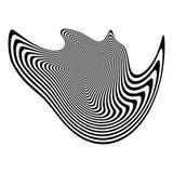 Design monochrome illusion background Stock Photos