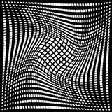 Design monochrome movement illusion background Royalty Free Stock Photo