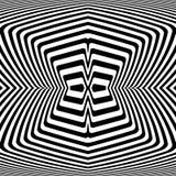 Design monochrome movement illusion background Royalty Free Stock Photo