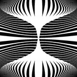 Design monochrome movement illusion background Royalty Free Stock Images