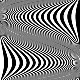 Design monochrome movement illusion background Royalty Free Stock Image