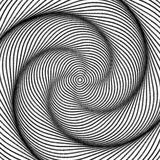 Design monochrome movement illusion background Stock Images