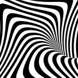 Design monochrome movement illusion background Royalty Free Stock Photos