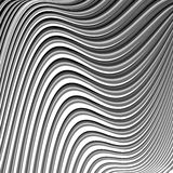 Design monochrome parallel waving lines background Royalty Free Stock Photo