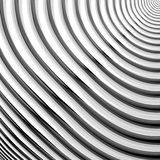 Design monochrome parallel waving lines background Stock Images