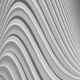 Design monochrome parallel waving lines background Royalty Free Stock Photos