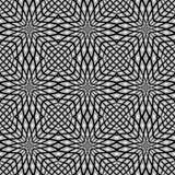 Design monochrome seamless mosaic pattern Stock Photo